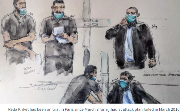 """French Jihadi: """"My intention was not to kill people"""" Sentenced to 24Years"""